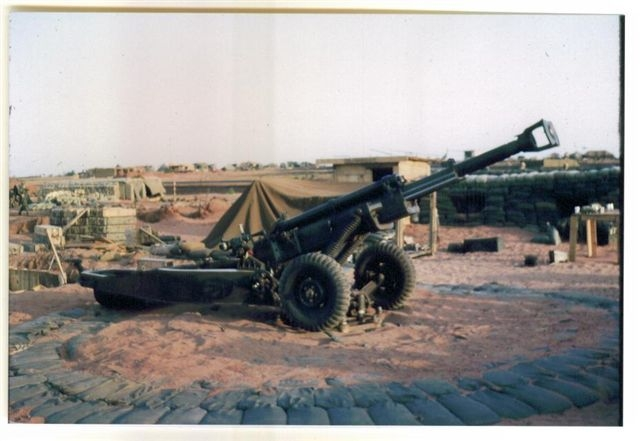 105mm Howitzer-Phan Thiet