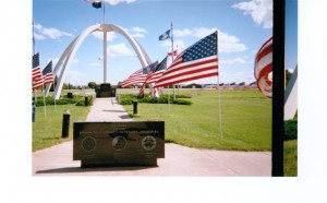 Veterans Memorial in Brookings.