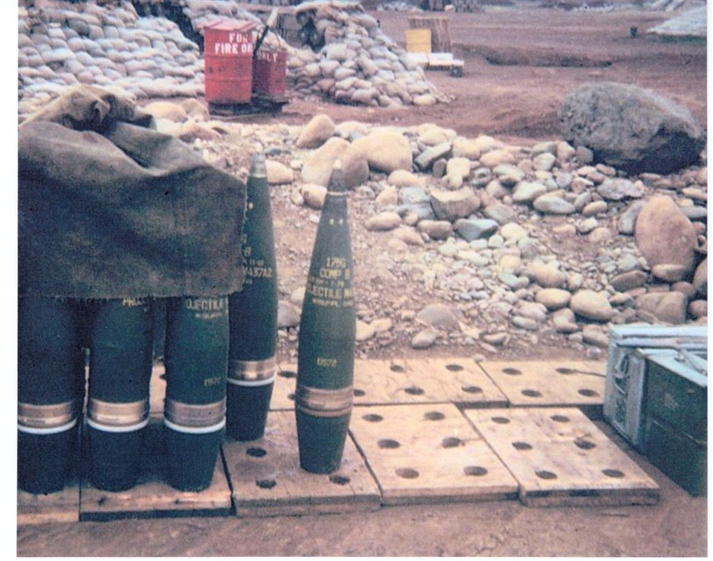 175 MM Rounds